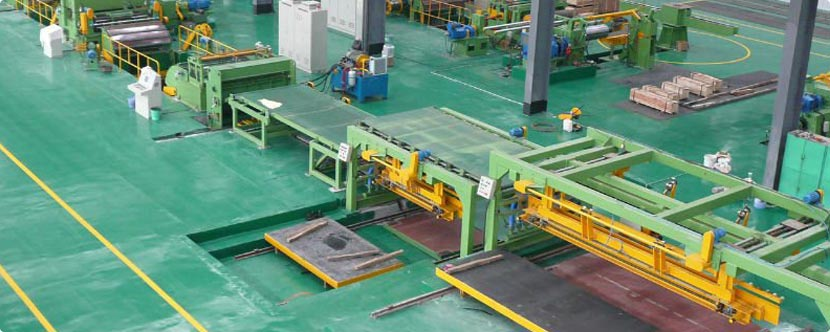 Steel Cut To Length Machine