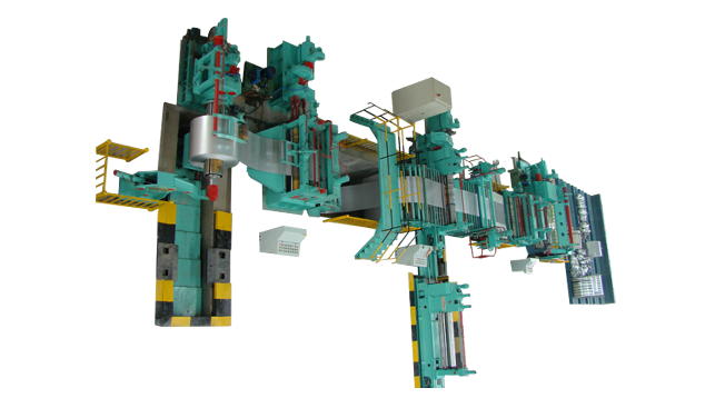 Medium Gauge Coil Slitting Line