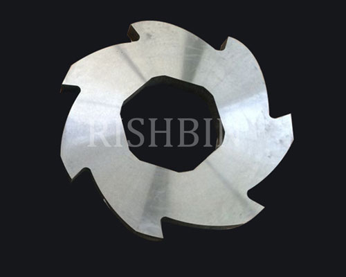 Multi-axis Shredder Blade
