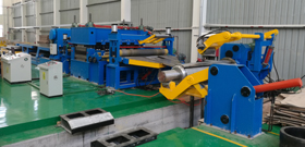 Aluminum Coil Flying Shear Cut To Length Machine
